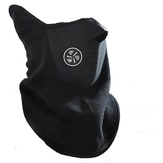 Biker Facemask - Riding Bike Half Face Mask - Balaclava(Black)