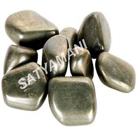 Satyamani Natural Pyrite Tumblestone For Vastu Healing