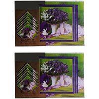 iTrend India Set of 2 Reversible Table Placemat Set 15 pcs.