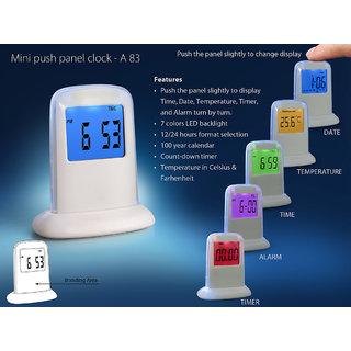 A83 - Mini push panel clock