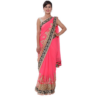 Ellegent Exports Georgette Heavy Work Saree