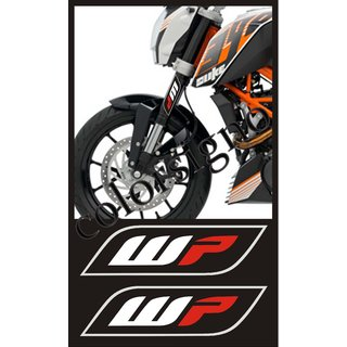 stylish STUMP WP sticker for KTM DUKE /OTHER BIKES 2 Nos.