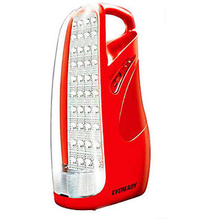 Eveready HL51 LED Rechargeable Emergency Light Red