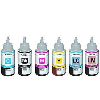 Epson L800 / L801 Black Ink 6 Color set