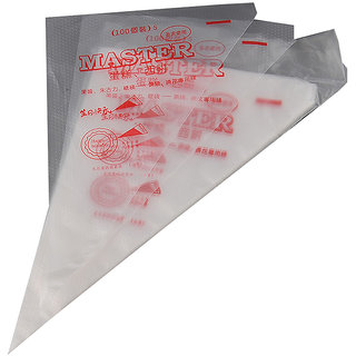 Polythene Icing Piping Bags Medium - 100 Pcs