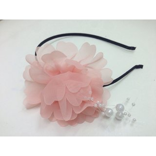 Girls hairband with cute flower for partywear dressing and birthday return gift