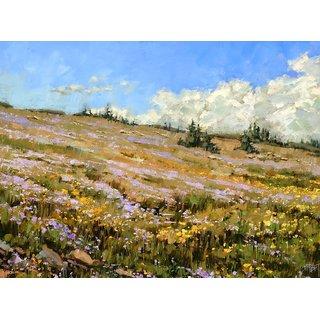 Vitalwalls Landscape Canvas Art Print On Pure Wooden Framelandscape-530-F-60Cm)