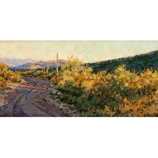 Vitalwalls Landscape Painting Canvas Art Print (Landscape-537-45Cm)