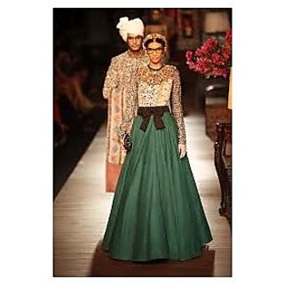 Celebrity Designer Evening Gown Lehnga Dress Prices In India