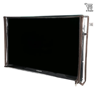 E-Retailers Transparent P.V.C LED/LCD Television cover For 32 Inch LED/LCD (UNIVERSAL)