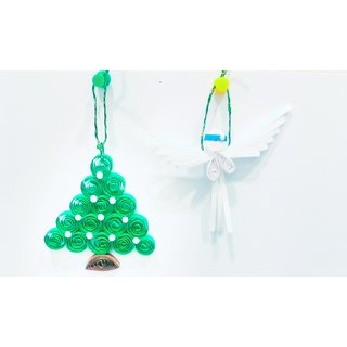 Christmas Decoration Tree And Angel