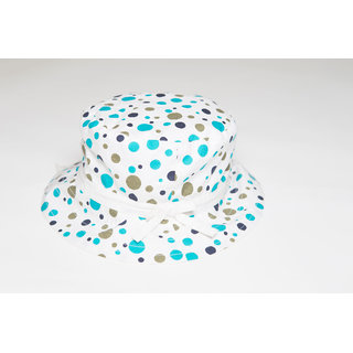 Nino Bambino Green Organic Cotton Reversible Sun Hat (Big Size)