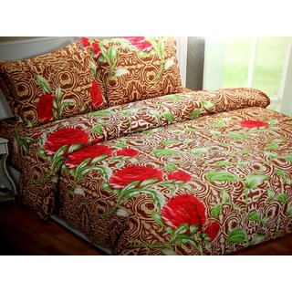 Aa Bell Cotton Bedsheet At Low Prices