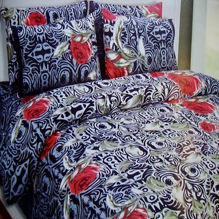 Aa Bell Cotton Double Bedsheet At Low Prices