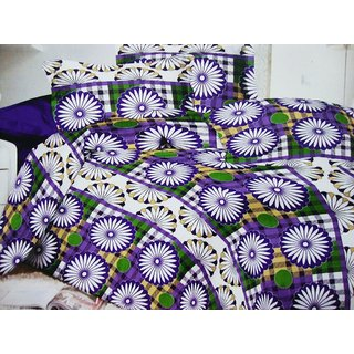 Aa Bell Cotton Double Bedsheet At Low Rates