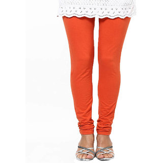 Dashing Orange Colour Leggings