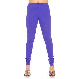 Designer Purple Colour Leggings