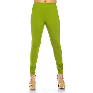 Casual Green Colour Leggings