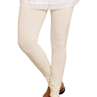 Attractive White Colour Leggings