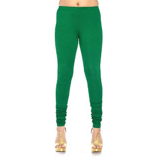 Modern Green Colour Leggings