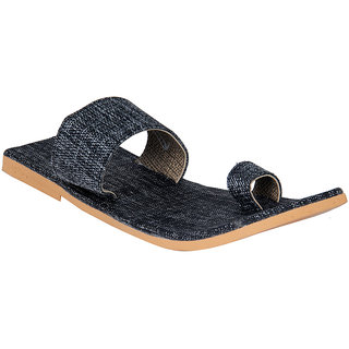 Panahi Men's Gray Ethnic Sandal