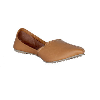 Panahi Men's Brown Jutti