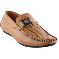 Smart Wood Corporate Formal Shoes 3502 BEIGE