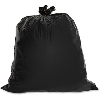 90 Pcs Black Garbage Bag (20 X 24 Inches) (Pack Of 90)