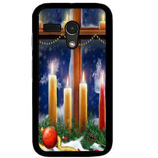 Instyler Digital Printed Back Cover For Moto G MOTOGDS-10088