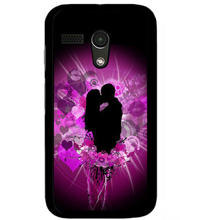Instyler Digital Printed Back Cover For Moto G MOTOGDS-10106