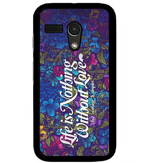Instyler Digital Printed Back Cover For Moto G MOTOGDS-10110