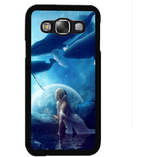 Instyler Digital Printed Back Cover For Samsung Galaxy E7 SGE7DS-10114