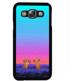 Instyler Digital Printed Back Cover For Samsung Galaxy E5 SGE5DS-10133