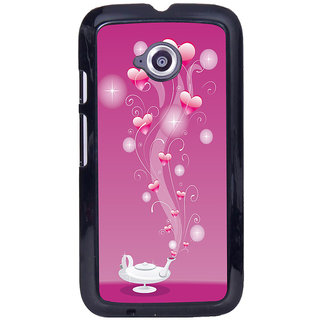 Instyler Digital Printed Back Cover For Moto E2 MOTOE2DS-10097