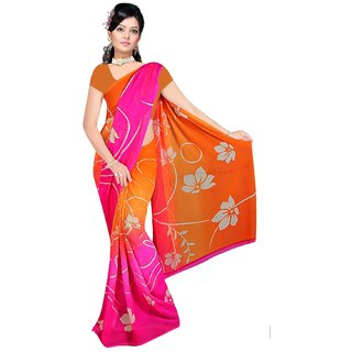 Shopeezo Printead Saree