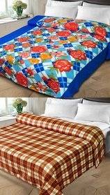 K Decor BUY 1 GET 1 Double Bed Blanket