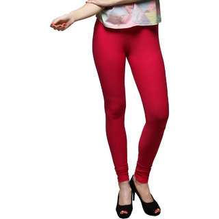 Artistic Maroon Colour Leggings