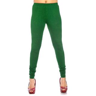 Bold Green Colour Leggings