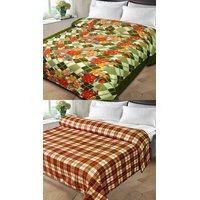 K Decor BUY 1 GET 1 Double Bed Blanket