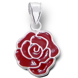 Red rose pendant buy red rose pendant online at best prices from red rose pendant mozeypictures Choice Image