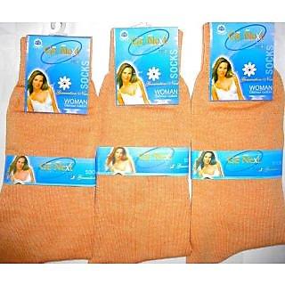 R DECOR Wollen women socks ( Pack Of 3 Pair)