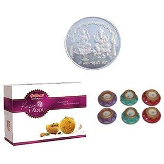 Irresistible Sweets  Divine Ganesh Laxmi Coin Diyas