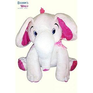 Ellishas World Ella (M) White  Pink Non - Toxic Fur For 2-12 Years