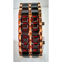 RED LED Digital Watch Cum Bracelet For Mens (pk176)
