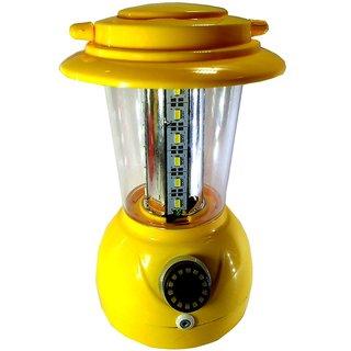 Kaka Ji 24 led little champ yellow rechargeable emergency light