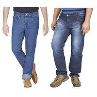 Wajbee Mens Jeans Pant Pack of 2