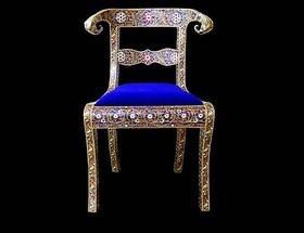 Meenakari Chair Wooden Chair