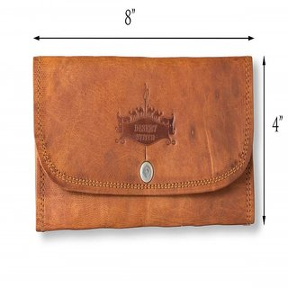 LADIES 3 FOLD HAND PURSE IN LEATHER