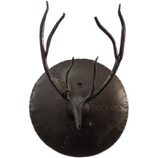 Handmade Iron Dear Face Art