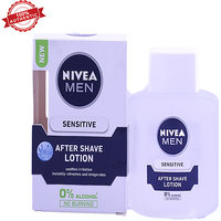 Nivea Men Sensitive After Shave Lotion 100Ml With 0% Al